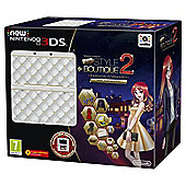NEW Nintendo 3DS HW White + New Style Boutique 2 + Coverplate