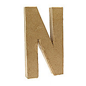Large Kraft Letter - N