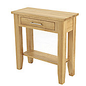 Elements Selby Oak Hall Table - Large