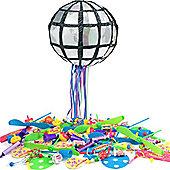 Disco Ball Pull Pinata Kit