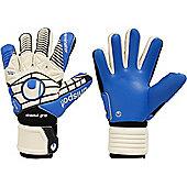 Uhlsport Eliminator Absolutgrip Hn Goalkeeper Gloves Size - White