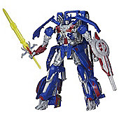 Transformers Age of Extinction Generations Leader Class Optimus Prime Figure - Action Figures