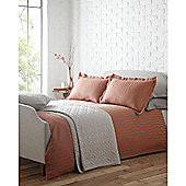 Living By Christiane Lemieux Brick Jaquard Double Duvet Cover