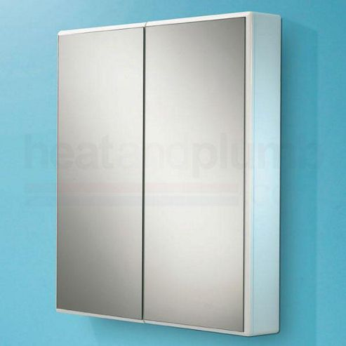 Buy hib jersey mirrored bathroom cabinet 700mm high x for Bathroom cabinets 700mm