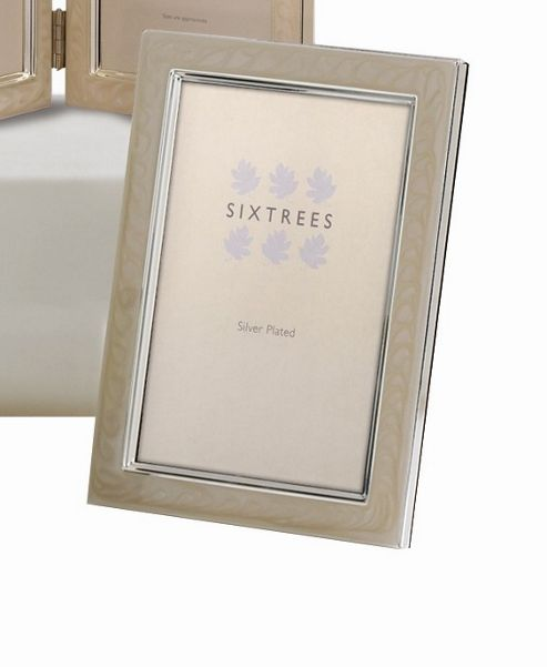 Sixtrees Zurich Plate Photo Frame - 4 x 6
