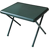 Yellowstone Lightweight Resin Camping Table Green