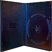 Slimline Slim Single DVD Storage Case 10 Pack Clear