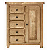 Kelburn Furniture Cherry Creek Oak Cupboard