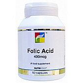 Nutrigold Folic Acid 400Mcg 60 Veg Capsules