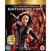 The Hunger Games Catching Fire: Triple Play (Blu-Ray, DVD & UV)