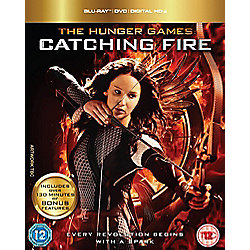 The Hunger Games Catching Fire: Triple Play (Blu-Ray, DVD & UV)