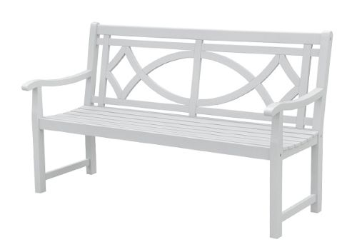 Paxton bench - cool grey