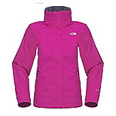 The North Face Ladies Resolve Jacket - Pink