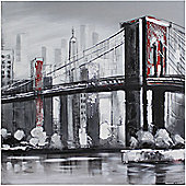 CIMC Home Brooklyn Bridge Canvas Art