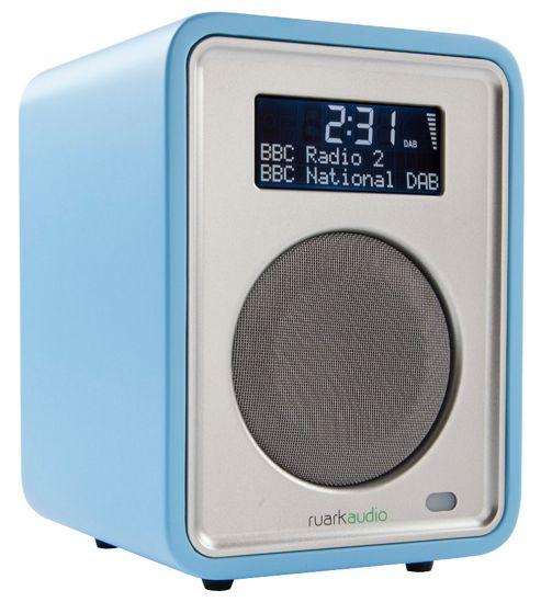 RUARK AUDIO R1 MkII LIMITED EDITION PASTEL BLUE DAB/DAB+/FM ALARM RADIO