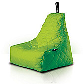 Luxury Quilted Bean Bag - Lime