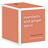 Prices Boxed Candle  Mandarian and Ginger Spice