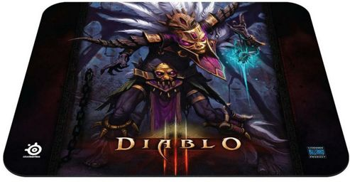 SteelSeries QcK Diablo III Witch Doctor Mouse Pad