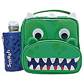 Smash Dragon Lunch Bag and Bottle