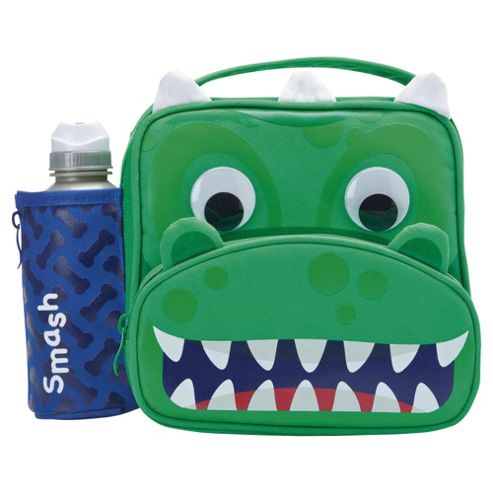 buy smash dragon lunch bag and bottle from our lunch bags. Black Bedroom Furniture Sets. Home Design Ideas