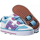 Heelys Blossom Purple/White/Blue Heely Shoe - Blue