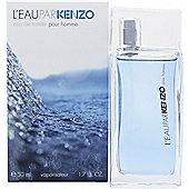 Kenzo L'Eau par Kenzo pour Homme Eau de Toilette (EDT) 50ml Spray For Men