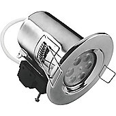 Kosnic LED 7.5W Fire Rated Downlight - Chrome