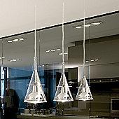FontanaArte Flute Three Light Pendant