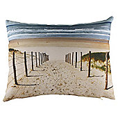 Beach Photographic Cushion
