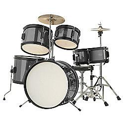Rocket 5 Piece Junior Drum Kit - Black