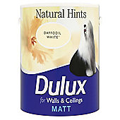Dulux Matt Emulsion Paint, Daffodil White, 2.5L