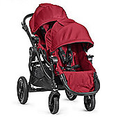 Baby Jogger City Select Tandem Stroller with Second Seat - Red