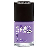 Rimmel London Salon Pro with Lycra Nail Polish 312 Ultra Violet