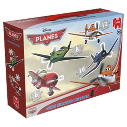 Planes 4 in 1 shaped