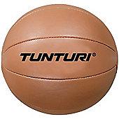 Tunturi Synthetic Leather Medicine Ball - 3kg