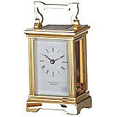David Peterson Ltd 8 Day Anglais Corinthian Carriage Clock