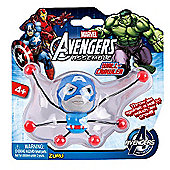 Marvel Avengers Assemble Creepeez Wall Crawler - Captain America