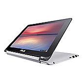 ASUS Chromebook Flip C100PA-FS0002 Touchscreen 1280 x 800 (Cortex-A17 RK3288C 4GB RAM, 16 GB) - metallic silver