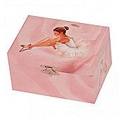 Amelia Girls Musical Ballet Jewellery Box