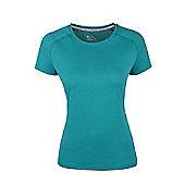IsoCool Womens Technical T-Shirt - Ocean blue