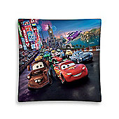 Disney Cars City Race Filled Cushion