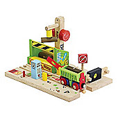 Bigjigs Rail BJT228 Tom's Timber Yard