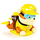 Paw Patrol Paddlin' Pups Bath Toy - Rubble