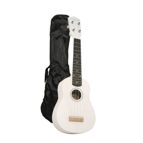 Martin Smith Standard Soprano Ukulele with Bag - White