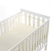 BreathableBaby Mesh Cot Liner Natural