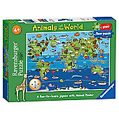 Ravensburger Puzzles Animals of the World Giant Floor Puzzle