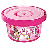 Meccano 100pc Bucket Pink