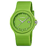 M-Watch Maxi Colour Unisex Resin Day & Date Watch A661.30615.60.01