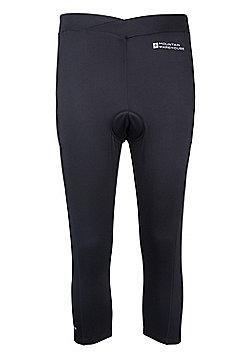 Ride Womens Tight Fit Bike Capris - Black