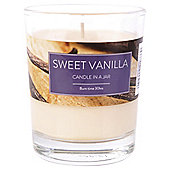 Tesco Sweet Vanilla Candle in a Jar